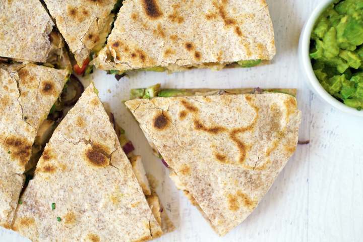 Gluten Free Chicken Quesadillas