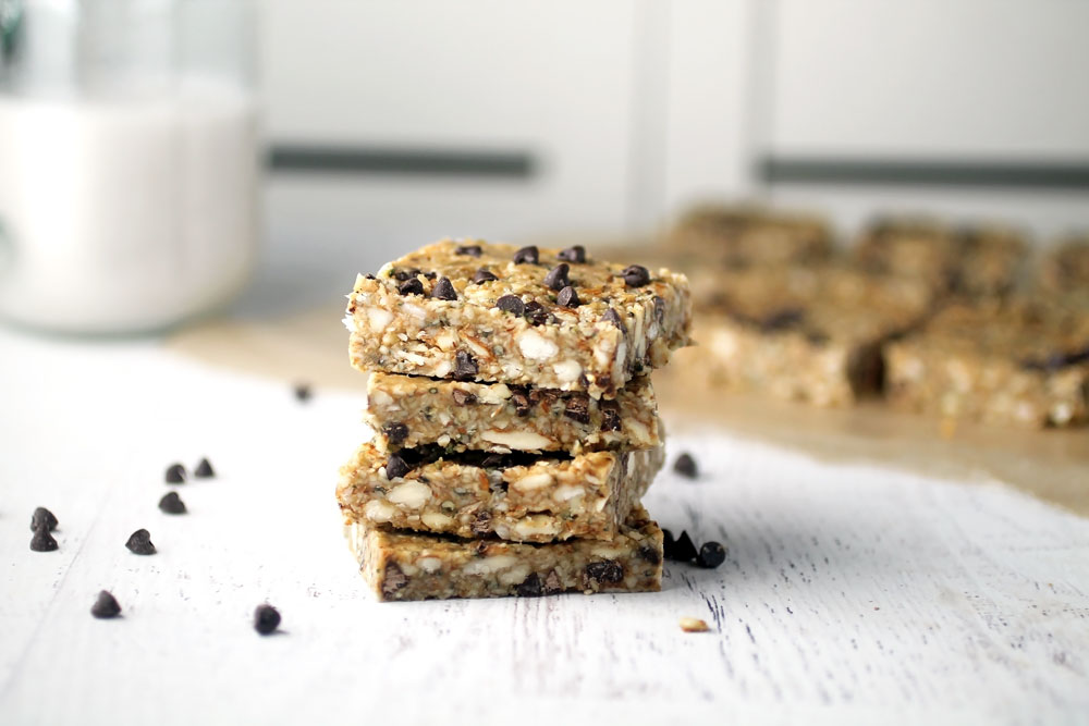 No-Bake Hemp Seed Bars