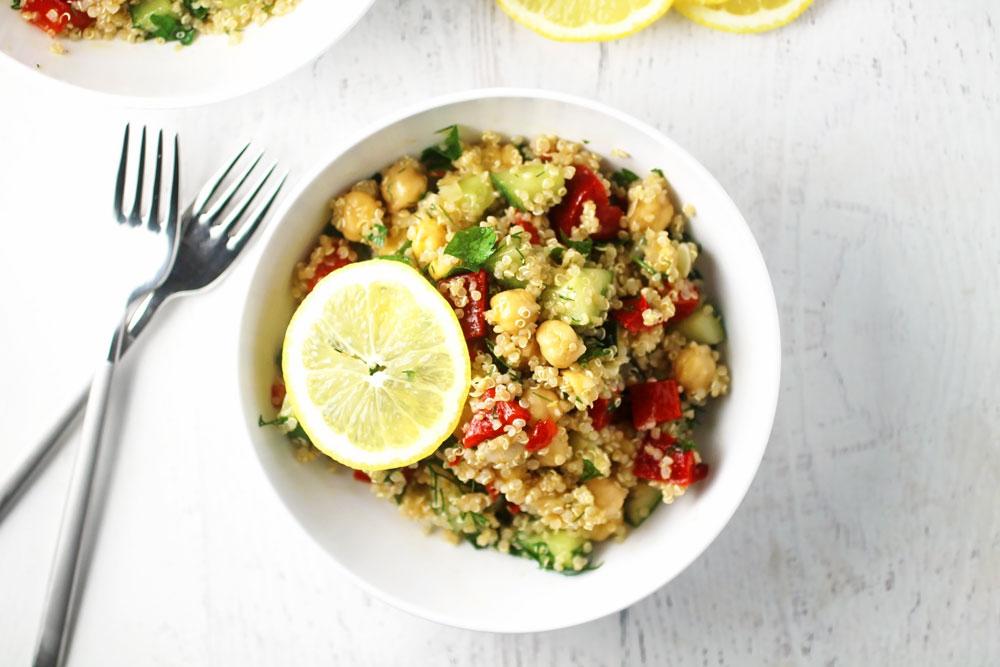 Quinoa, Chickpea and Fresh Herb Salad