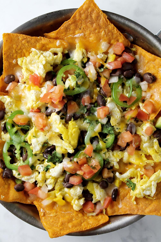 Healthy Breakfast Nachos