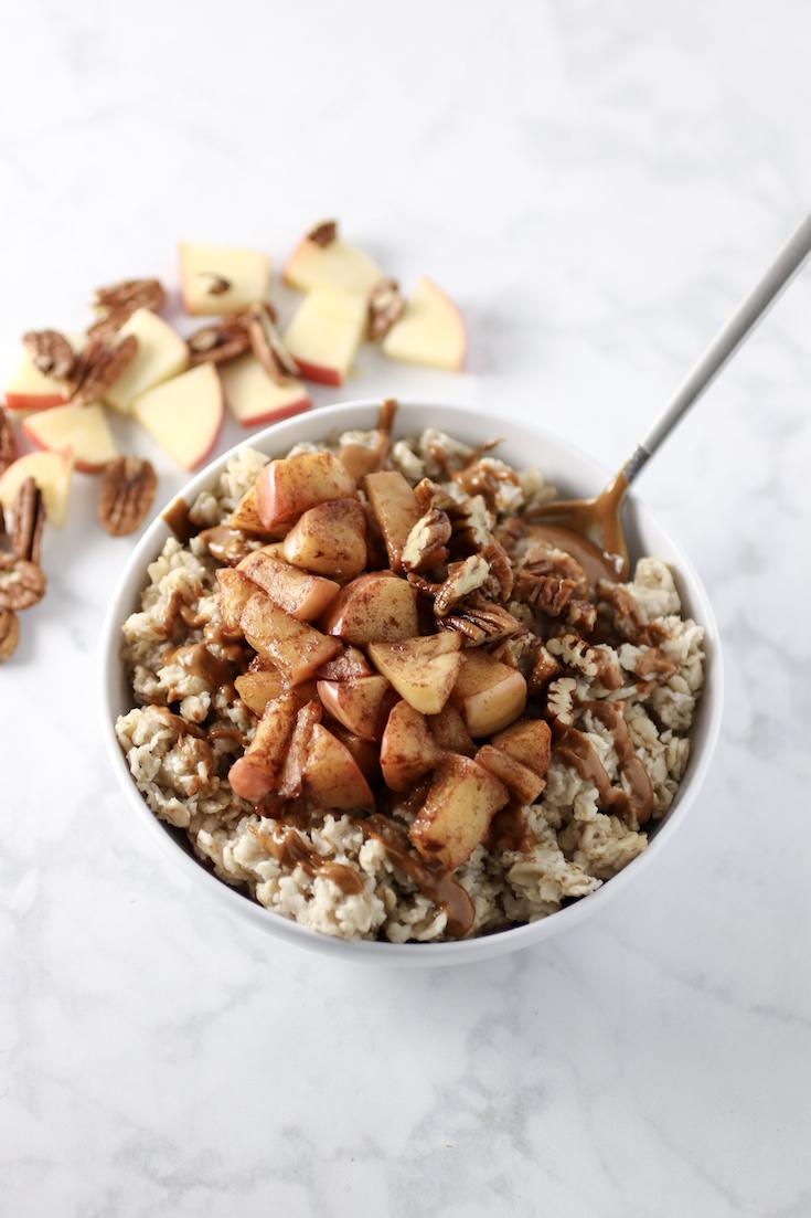 Apple Cinnamon Oatmeal