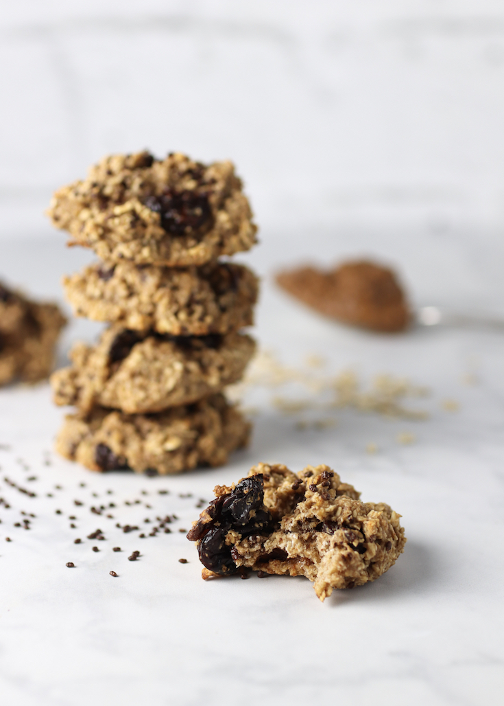 healthy-peanut-butter-oatmeal-cookies