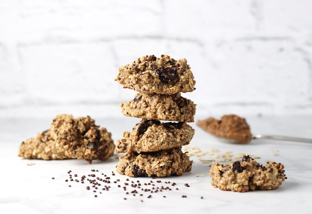 healthy-peanut-butter-oatmeal-cookies