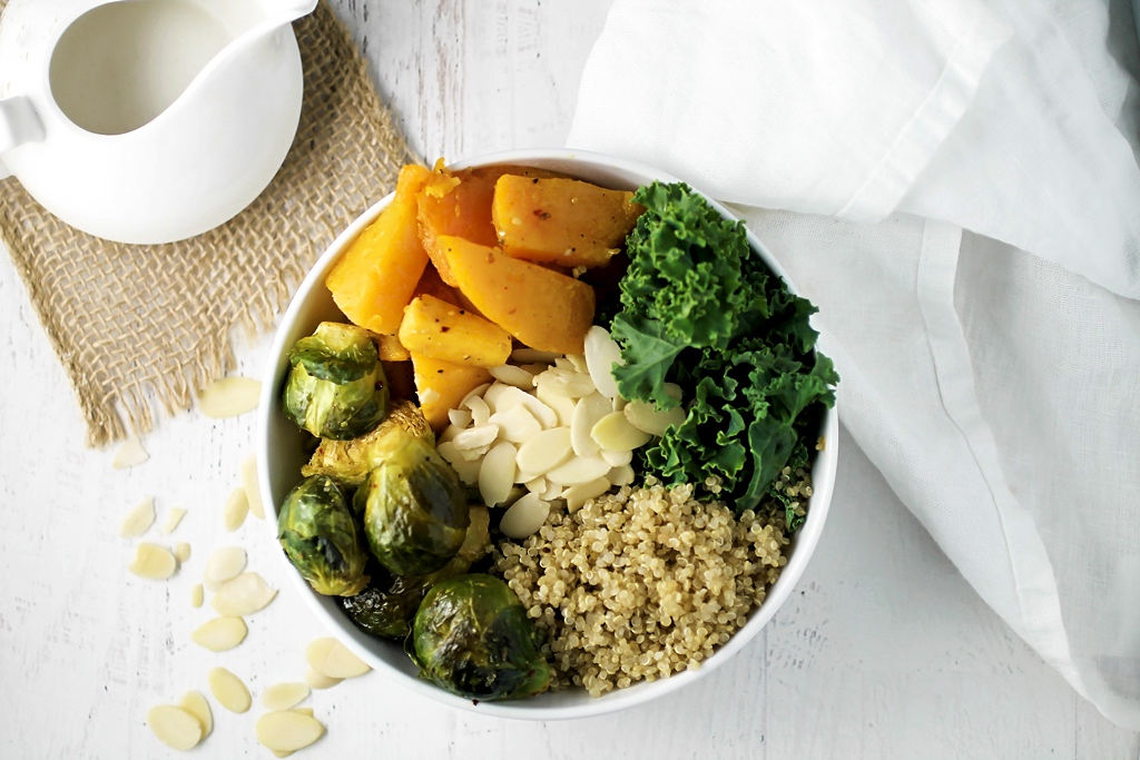 Vegan Fall Power Bowl