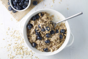 Blueberry Pie Overnight Oats
