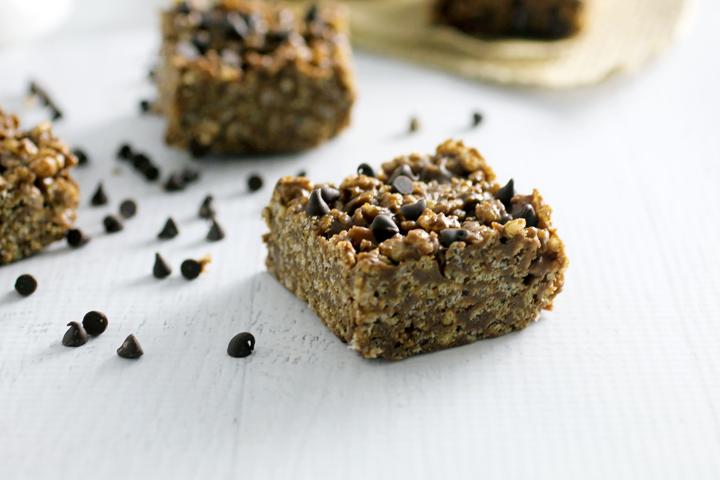 Chocolate Almond Butter Rice Crispy Treats