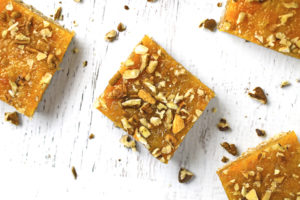 Gluten Free Apricot Squares