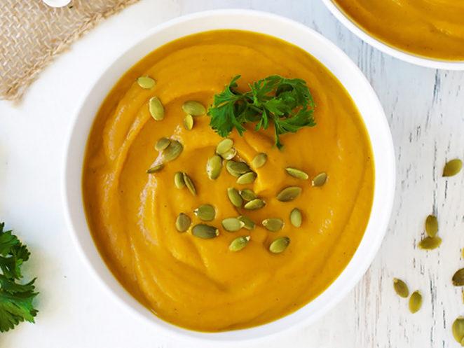 Skinny Pumpkin Soup