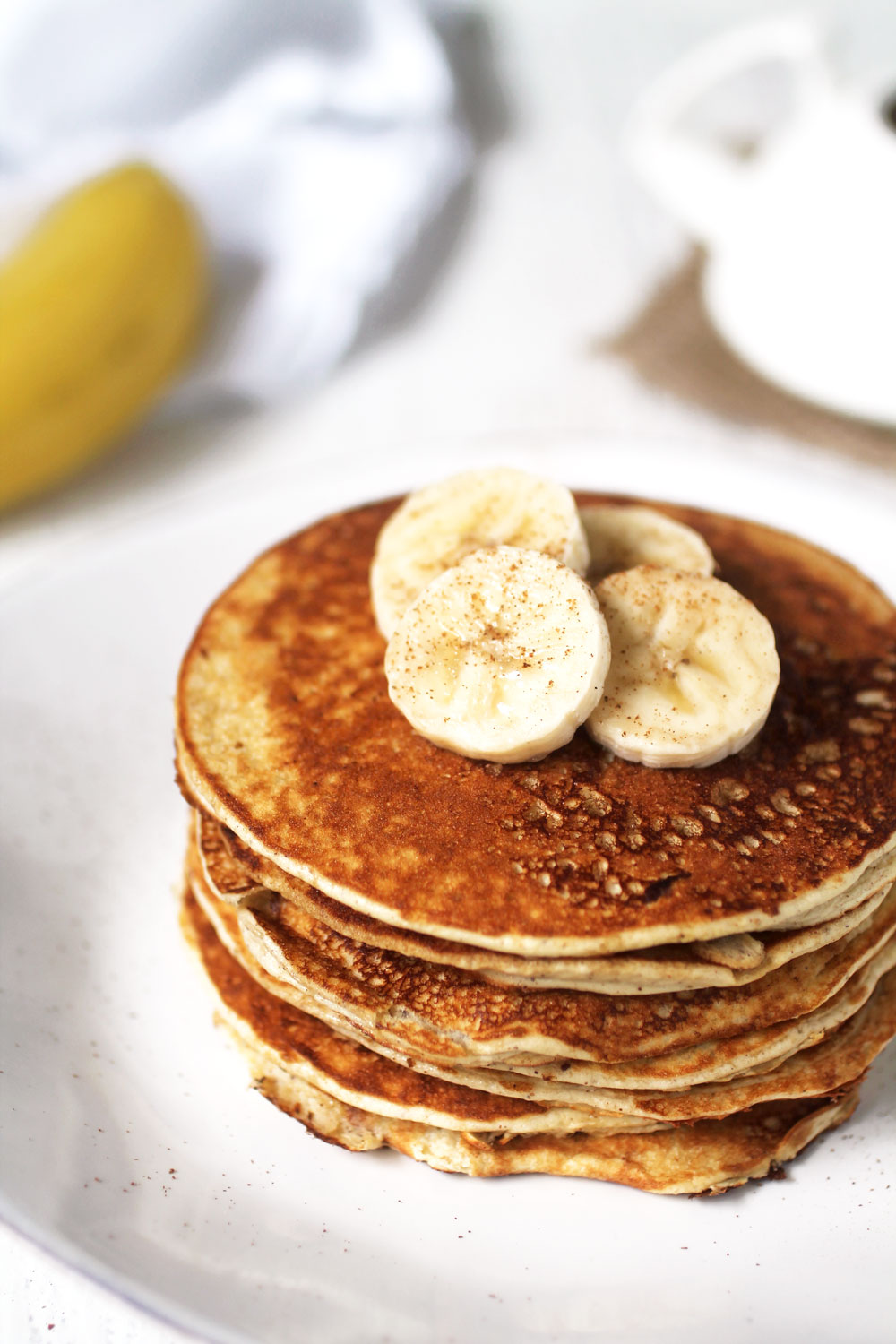 The Easiest Protein Pancakes