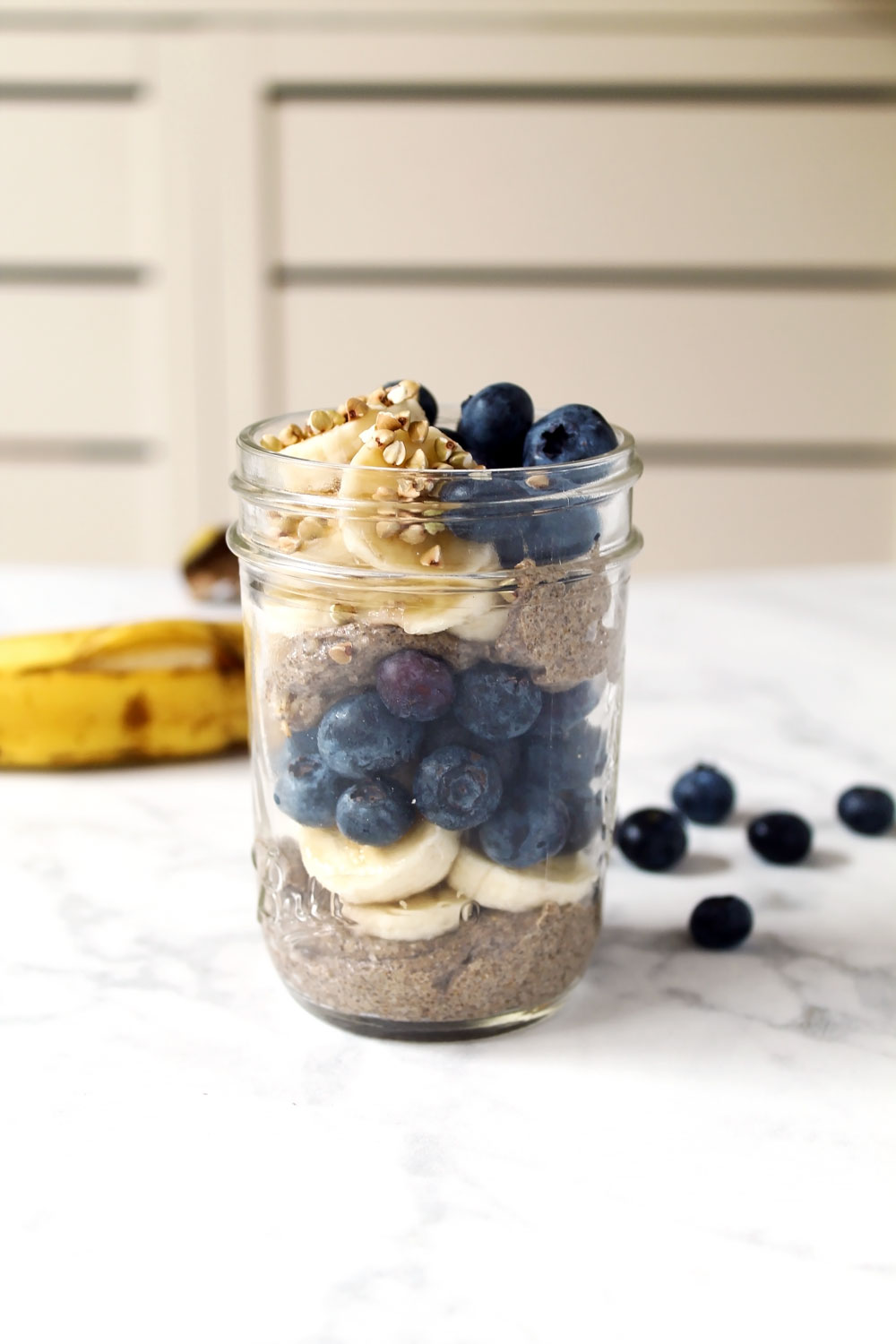 Blended Chia Pudding Parfait