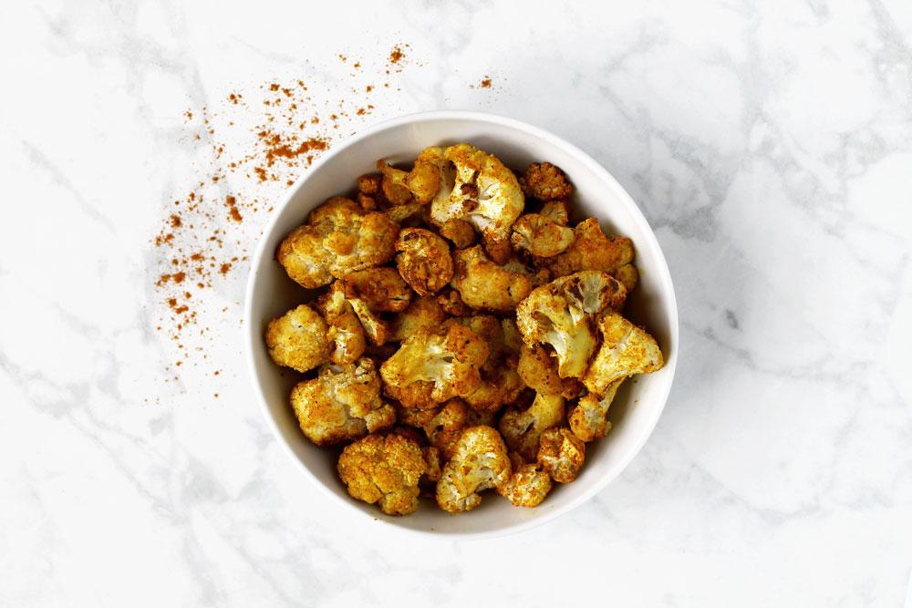 The Best Turmeric Roasted Cauliflower
