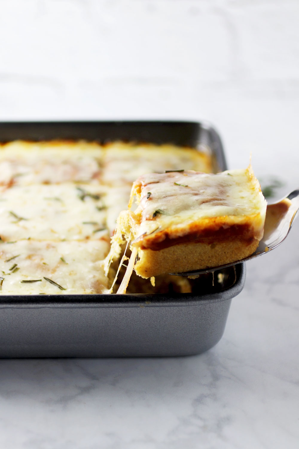 Cornbread Pizza Bake