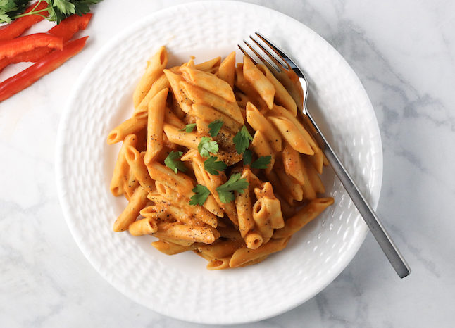 creamy-roasted-red-pepper-pasta