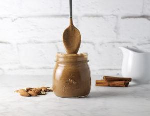 homemade cinnamon honey almond butter