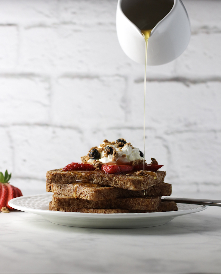 Simple French Toast on Sprouted Bread