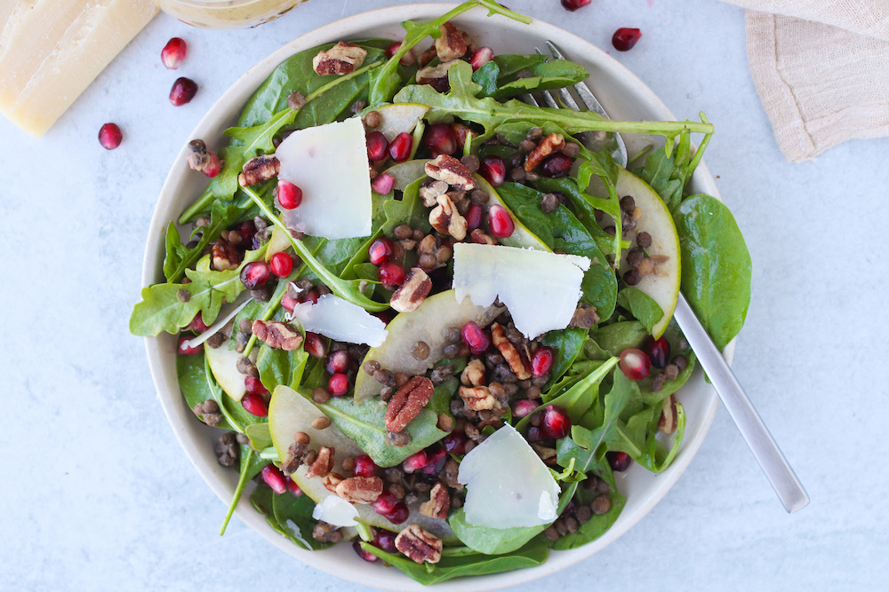 Pear and Lentil Salad