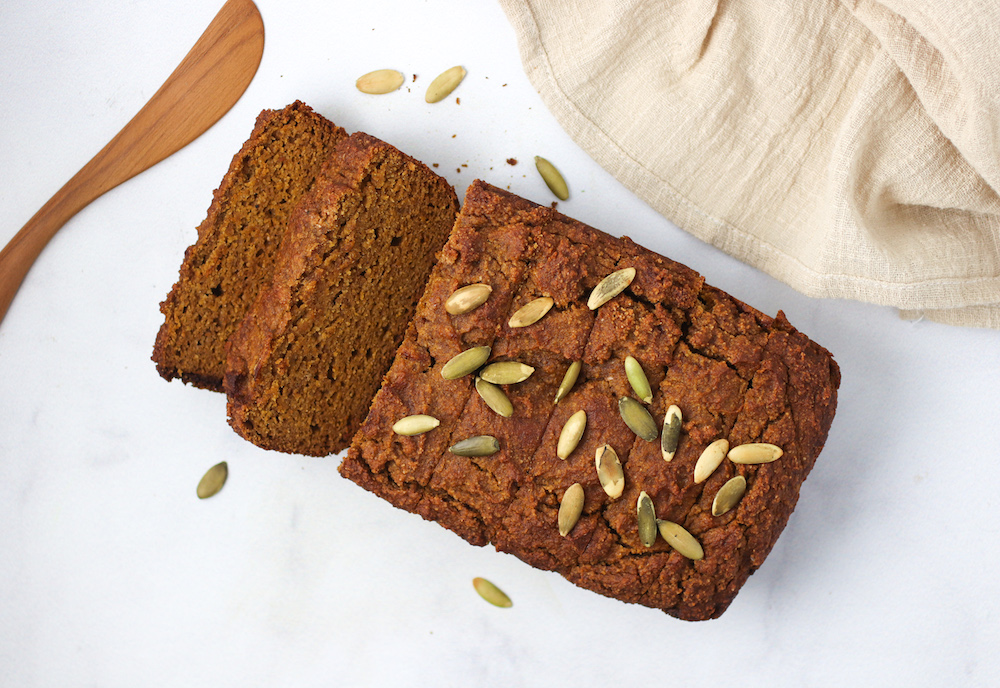 the healthiest pumpkin bread