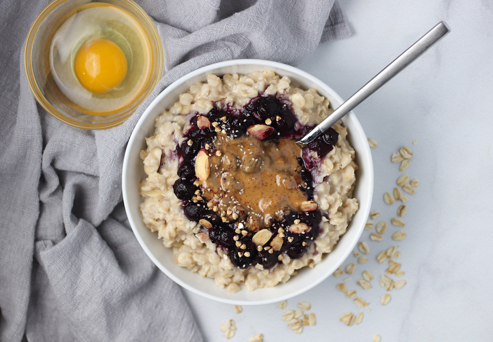 protein power oats