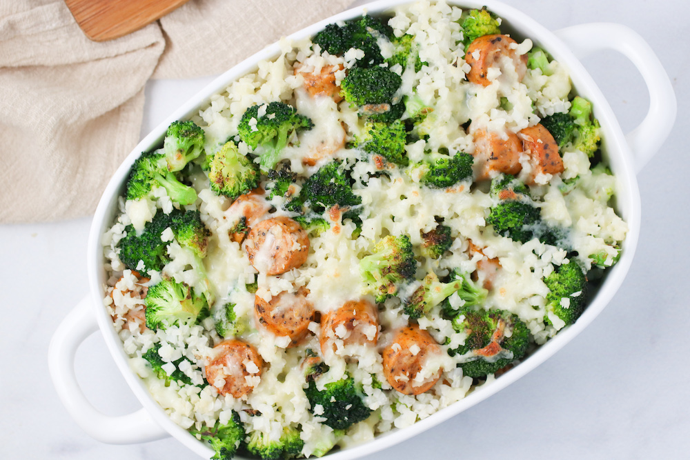cauliflower rice bake