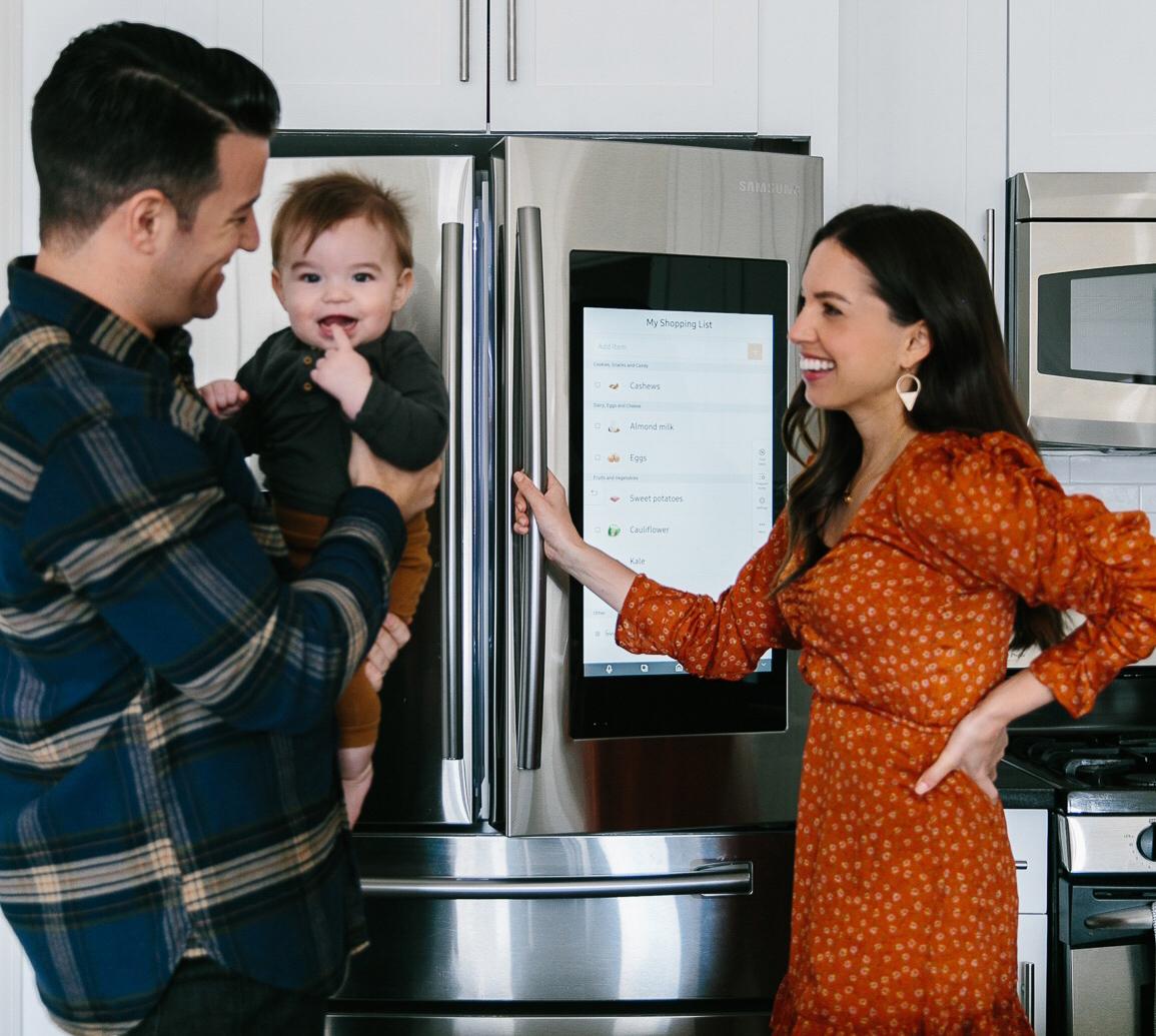 How The Most Innovative Fridge Keeps My Family Organized