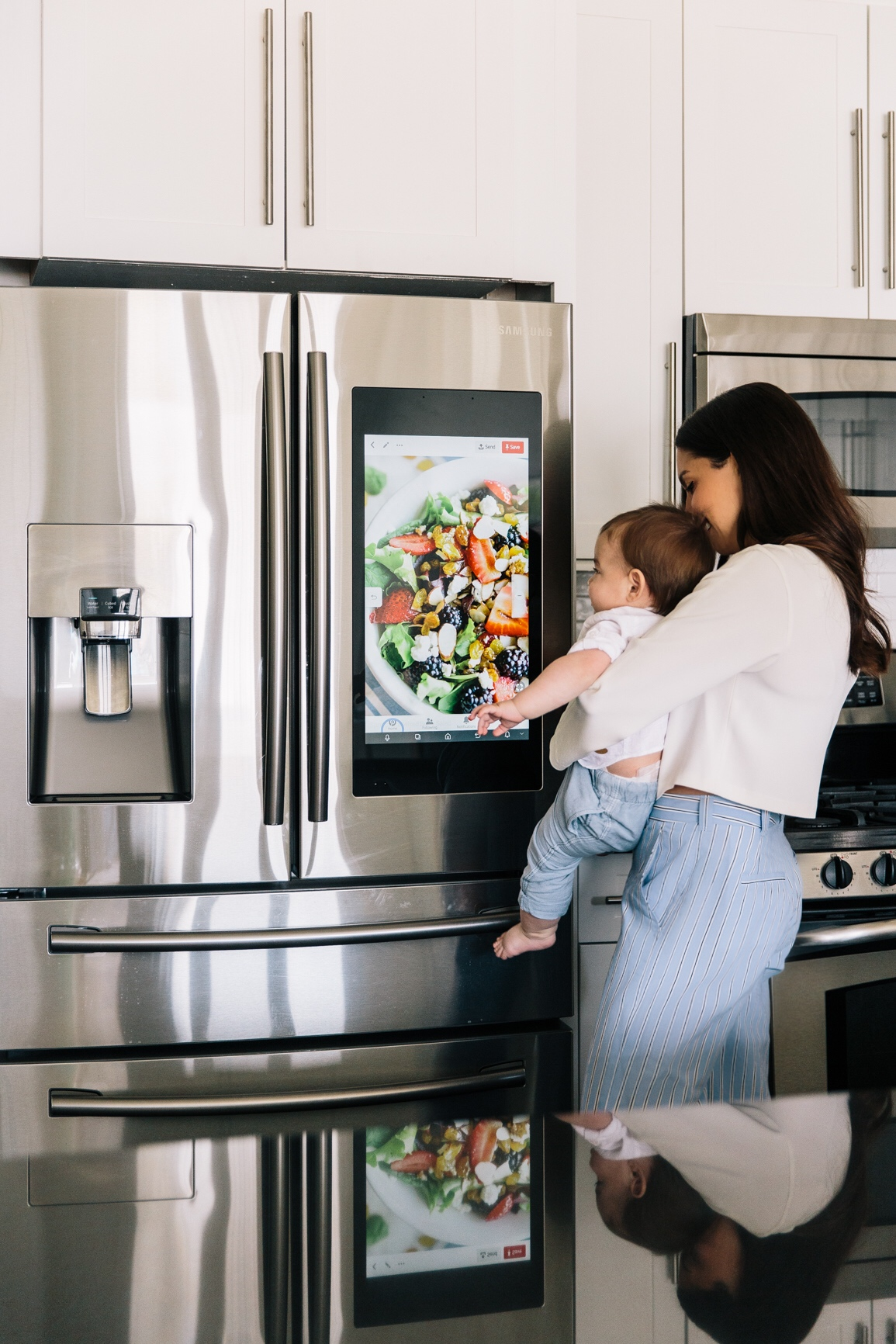 How To Instill Healthy Habits From a Young Age. Samsung Smart Fridge