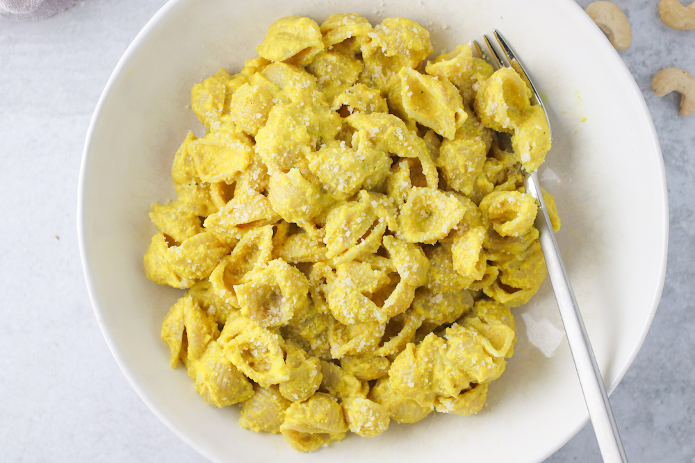 Creamy Turmeric Mac and Cheese