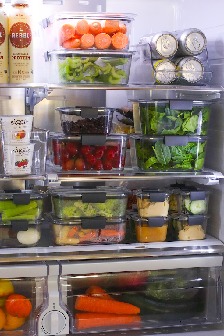 How I Prep and Organize My Produce for the Week