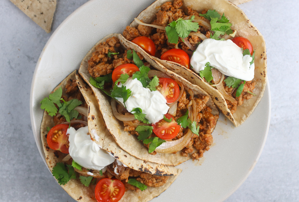 Simple Turkey Tacos